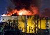 پدر در دعوای خانوادگی پسرش را آتش زد +عکس