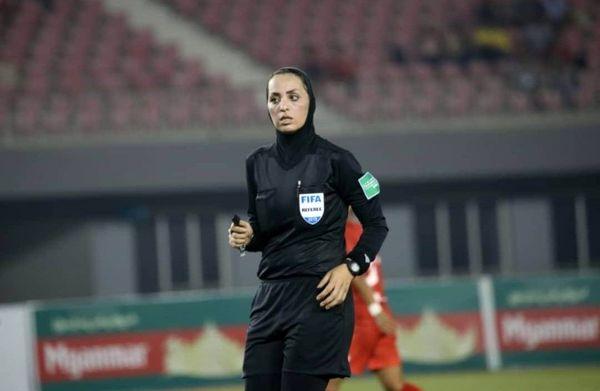 قضاوت داوران ایرانی در رقابتهای انتخابی جام ملتهای آسیا