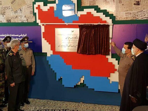 """نمایشگاه ملی """"در لباس سربازی"""" افتتاح شد"""