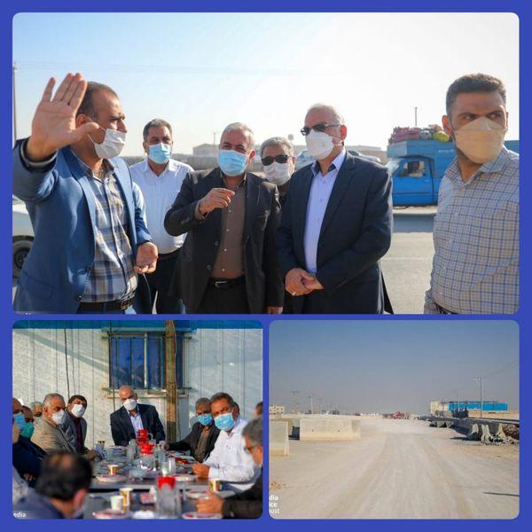 تکمیل کیلومتر 4 تا 7 حلقه حفاظتی شهر اصفهان تا نیمه دوم مهرماه
