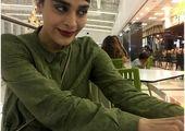 خانم بازیگر در لباس بیمارستان+عکس