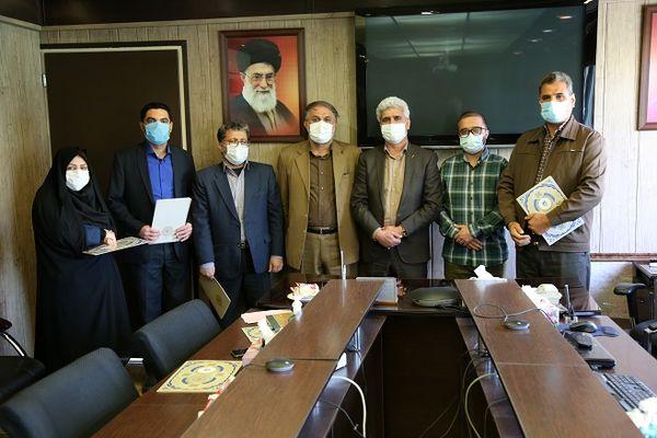 از زحمات و تلاش های همکاران حراست شرکت آب و فاضلاب استان مرکزی تجلیل شد