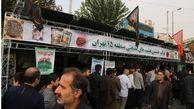 برپایی 5 موکب در مسیر راهپیمایی جاماندگان اربعین حسینی توسط منطقه 15