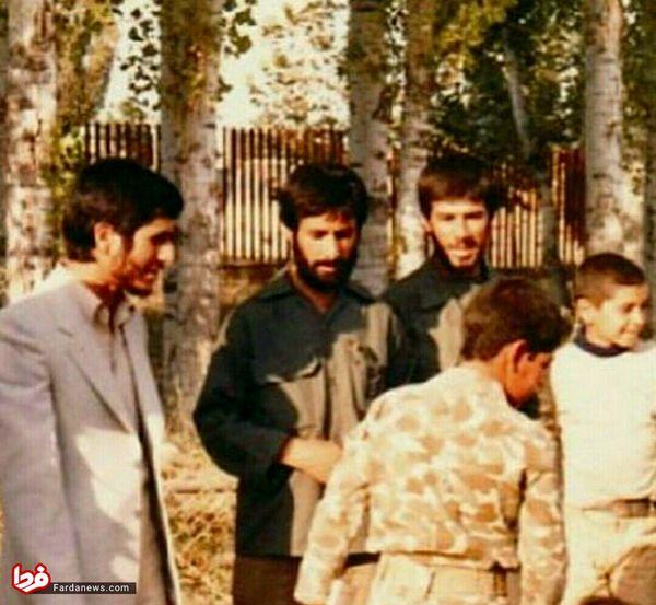 تصویری کمتر دیده شده از احمدی نژاد در دهه ۶۰
