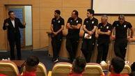 برپایی مراسم معارفه کادر فنی با بازیکنان تیم ملی فوتبال