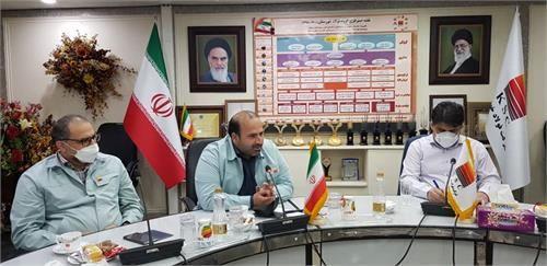 دیدار مدیرعامل فولاد خوزستان با اعضای صنایع کوچک استان برگزار شد