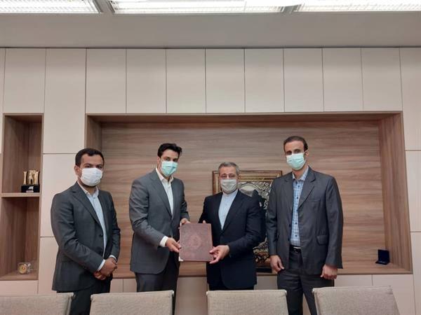 تفاهم نامه همکاری بین آکادمی ملی المپیک و انجمن علمی فیزیوتراپی ایران