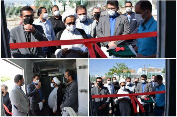 بهره برداری دستگاه اکسیژن ساز در شهرستان محلات