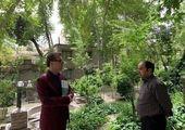برگزاری عزای حسینی با حضور مدیران شهری در بوستان قصر منطقه ۷