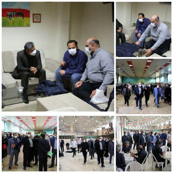 نخستین بازدید معاون جدید فرهنگی و اجتماعی شهرداری تهران از منطقه ۱۵ انجام شد
