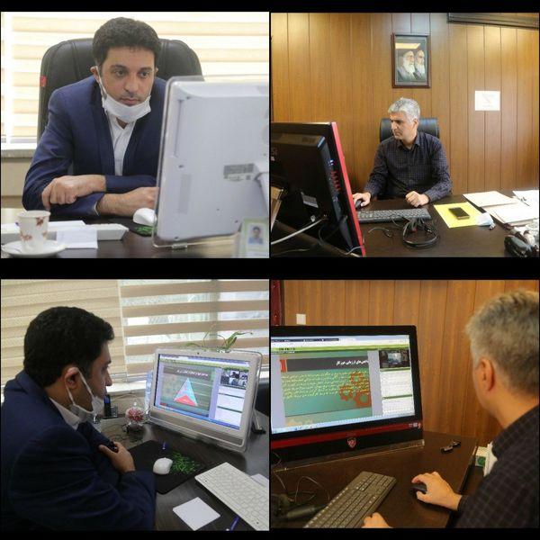 برگزاری دور آموزش آنلاین  مدیریت دورکاری ویژه مدیران منطقه ۶