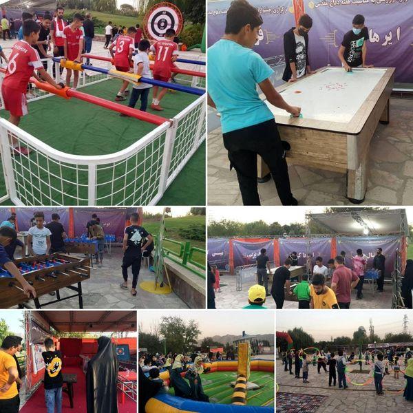  استقبال بی نظیر شهروندان تهرانی از جشنواره  تفریحی و ورزشی منطقه 15