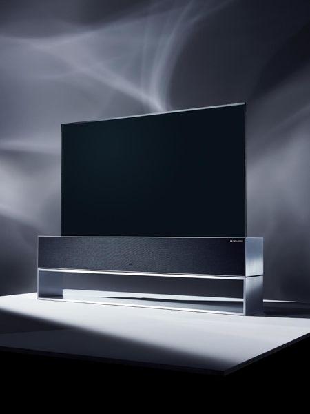 معرفی اولین تلویزیون OLED رول شونده ال جی
