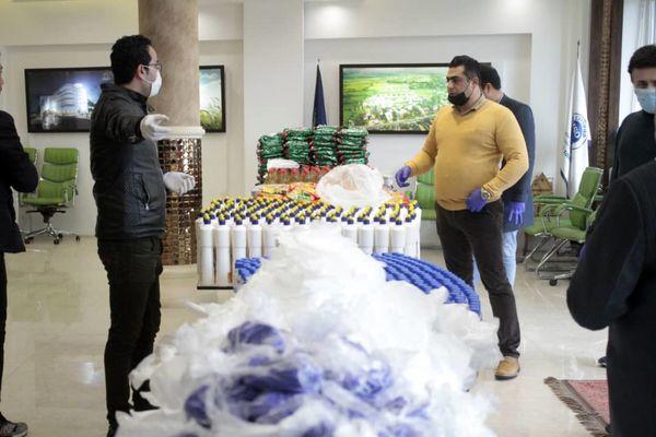 توزیع ۵۰۰۰ بسته حمایتی از سوی شرکت انبوه سازان آرش منطقه آزاد انزلی