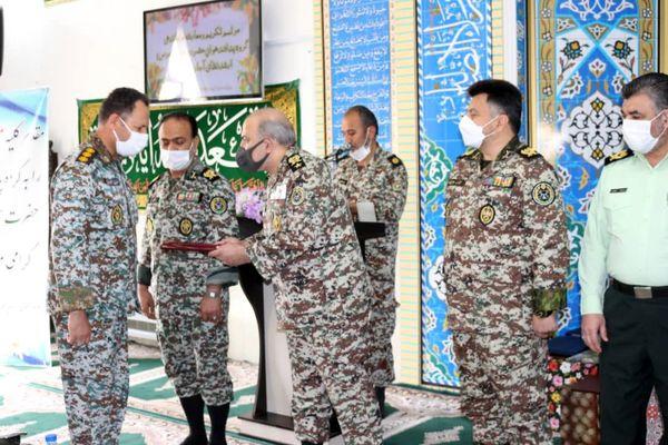 با حضور رئیس ستاد و معاون هماهنگ کننده نیروی پدافندهوایی ارتش امیر سرتیپ سپهری راد