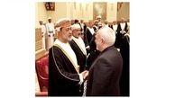 دیدار ظریف با پادشاه جدید عمان در مسقط