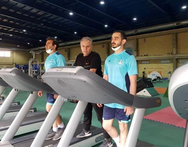 پیگیری تمرینات بدنسازی المپیکی های تیراندازی در آکادمی ملی المپیک
