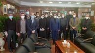 دیدار پرسنل روابط عمومی و امور فرهنگی با مدیر عامل سازمان بهشت زهرا(س)
