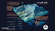 شرکت ملی نفت ایران از کشف میدان گازی جدیدی در جنوب استان فارس خبرداد
