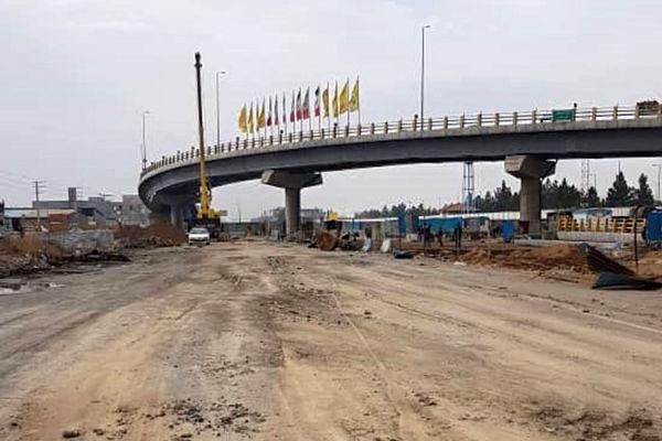 عملیات اجرایی فاز دوم تقاطع غیرهمسطح سه راه باقرشهر تسریع شد