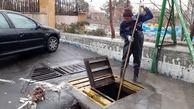 مهارآبگرفتگی ها در محلات شمال شرق تهران