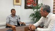 جلسه مدیرعامل پرسپولیس با مربی و کاپیتان تیم