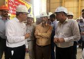 افتتاح فاز بخار نیروگاه سیکل ترکیبی گوهران