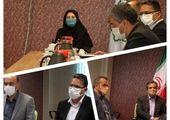 جلسه ارزیابی وضعیت آبیاری فضای سبز منطقه 7