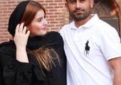 امید ابراهیمی در کنار همسرش +عکس