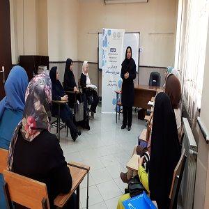 برگزاری کارگاه آموزشی مدیریت پسماند در سرای محله اسکندری