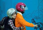 """اجرای مانور آموزشی """"موتورسوار خوب"""" در منطقه۱۴تهران"""