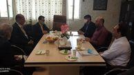 مدیر عامل شرکت شهرکهای صنعتی استان مرکزی در جلسه ستاد تسهیل شهرستان تفرش که درمحل فرمانداری برگزار شد، شرکت کرد