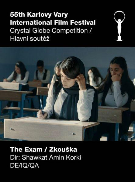 «امتحان» در بخش رقابتی اصلی جشنواره بینالمللی فیلم «کارلووی واری» پذیرفته شد