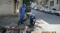  پاکسازی بافت فرسوده و کانالهای منطقه 15 از جانوران مضر شهری