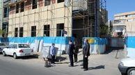 بازدید شهردار منطقه۱۳ از  دو پروژه عمرانی در ناحیه یک