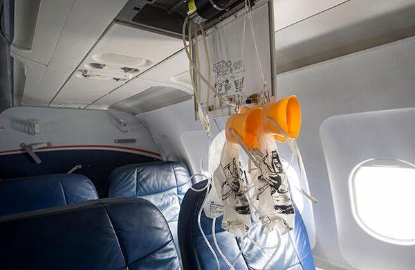 مکانیزم جالب ماسک اکسیژن خلبانان در مواقع اضطراری +عکس