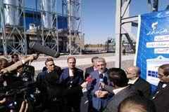 نیروگاه برق 58 مگاواتی رفسنجان افتتاح شد