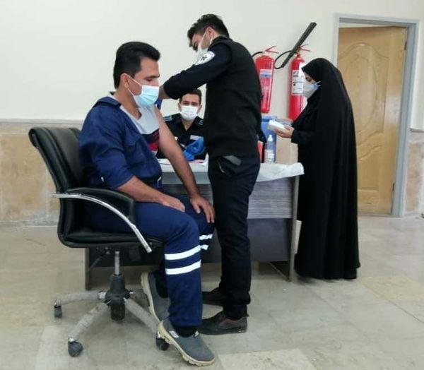 اجرای طرح واکسیناسیون کارکنان نفت و گاز مسجدسلیمان در برابر هپاتیتB