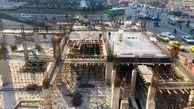 هر هفته 400 مترمکعب بتن ریزی در ساختمان خانه شهر انجام می شود