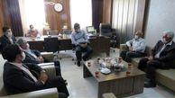 بازدید مدیر استانی بانک ایران زمین از کارخانه کاشی یاقوت