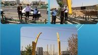 احداث عریض ترین پل موتوررو تهران در منطقه 15