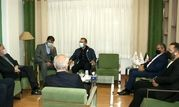بازدید رئیس فراکسیون ورزش مجلس به همراه رئیس کمیته ملی المپیک از امکانات آکادمی ملی المپیک