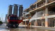 برگزاری مانور ایمنی و آتش نشانی در پتروشیمی شهید تندگویان