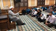 عزاداری کارکنان برج میلاد برای شهدای دشت کربلا