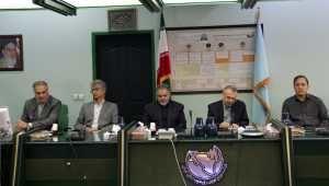 بازدید فرمانده بسیج شرکت توانیر از شرکت توزیع نیروی برق جنوب استان کرمان