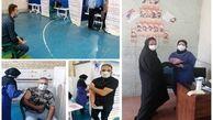 آغاز واکسیناسیون پرسنل شرکت آب و فاضلاب ساوه