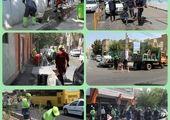 خدمت رسانی به بیش از2500نفر از شهروندان پهنه غربی پایتخت