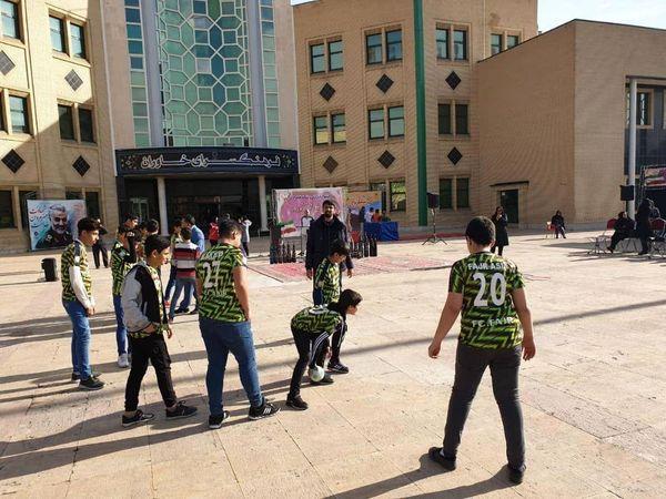 برپایی جشنواره ورزش و نشاط خانوادگی در منطقه ۱۵