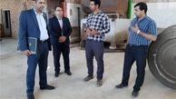 بازدید مدیران بانک ایران زمین از مجتمع کارتن سازی امینی اصفهان