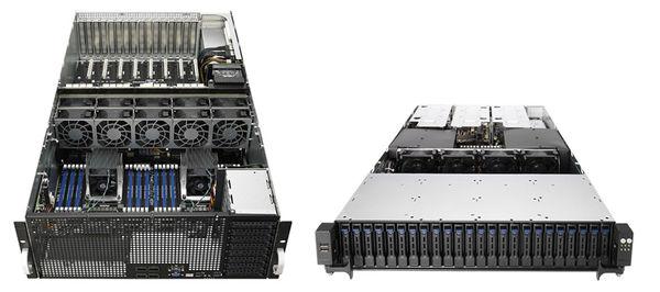 رونمایی ایسوس از سرورهای سازگار با نسل دوم پردازنده های Xeon Scalable